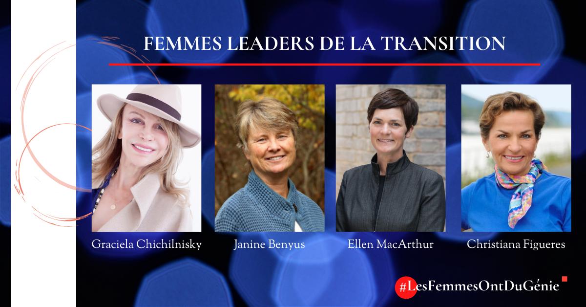 Les femmes ont un rôle essentiel à jouer dans la transition systémique mondiale