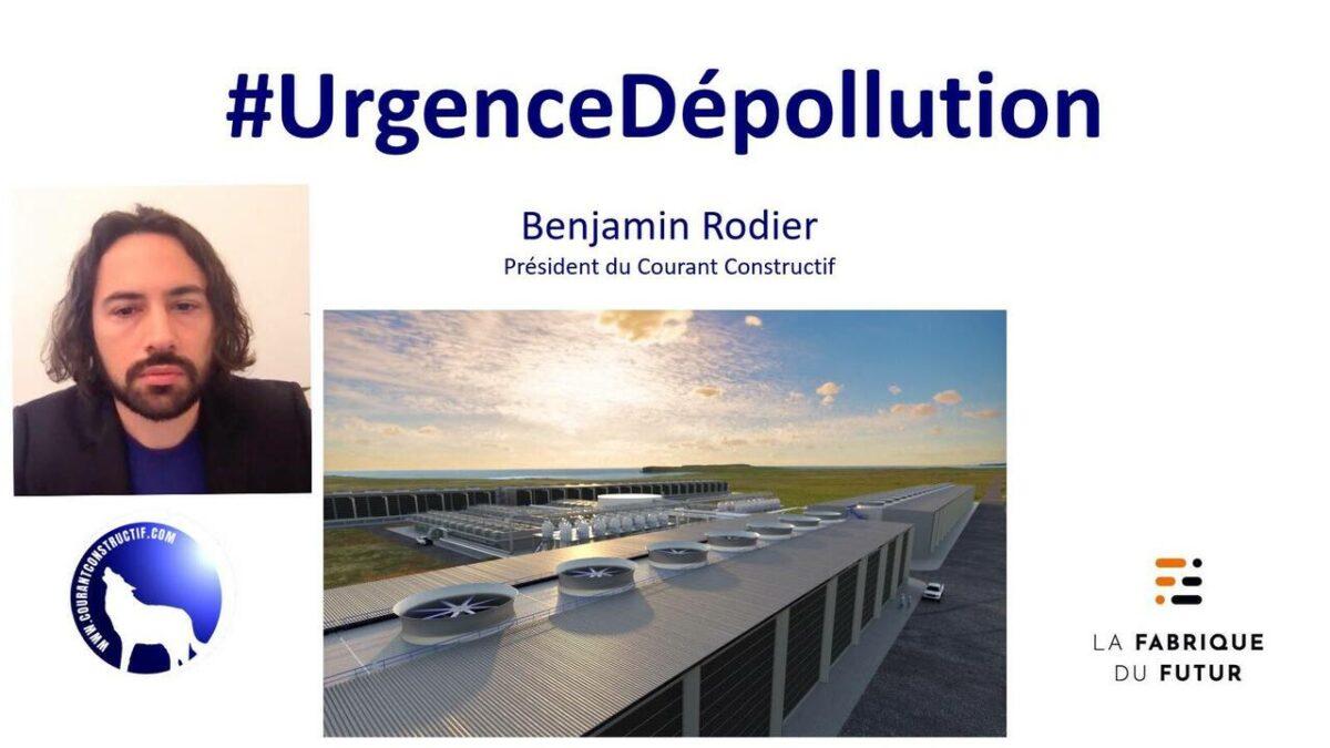 URGENCE DEPOLLUTION : une conférence de Benjamin Rodier